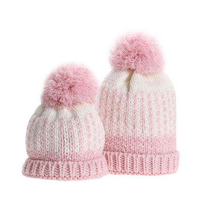Cute Mommy and Me Knitting Hats. - Blindly Shop