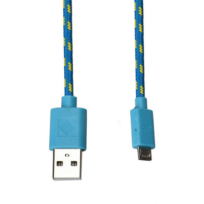 Rope Micro USB Charger Sync Data Cable Cord for Cell Phone - Blindly Shop