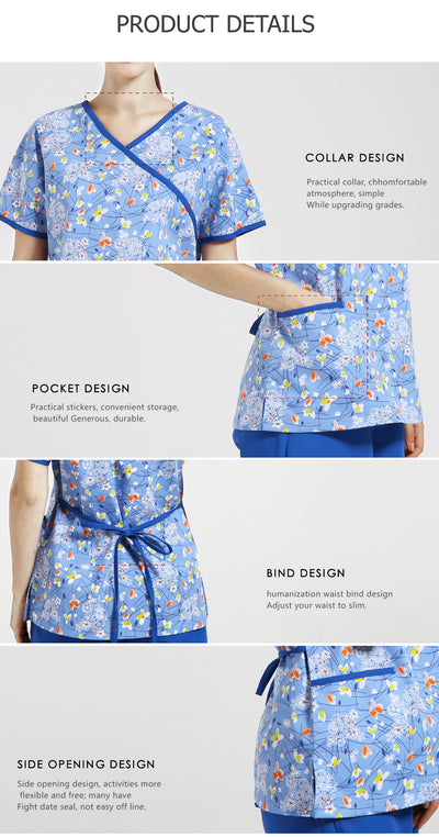 designer scrubs for nurse - Blindly Shop