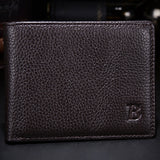 Thin Leather Wallets with coin pocket For Men