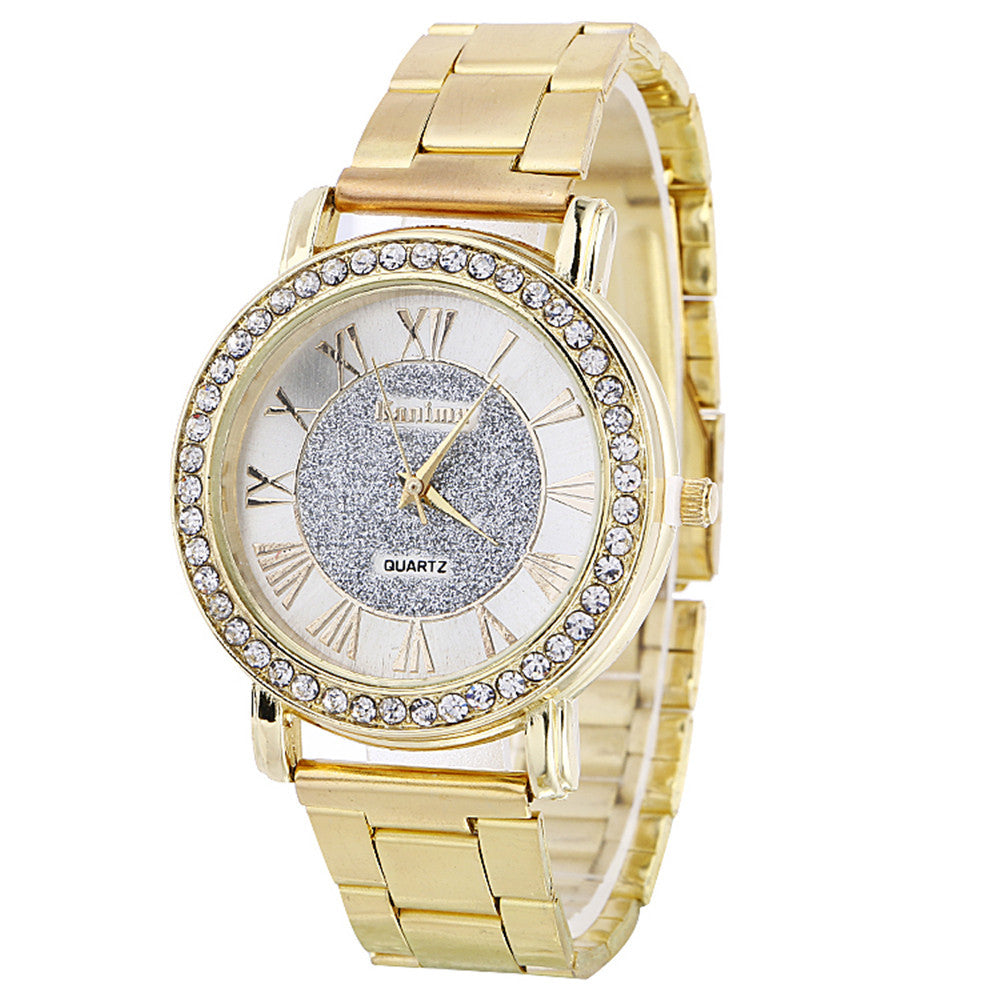 Diamond style Luxury Casual Watch. - Blindly Shop