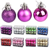 24pcs/lot Ball Bauble Hanging for Home decorations. - Blindly Shop