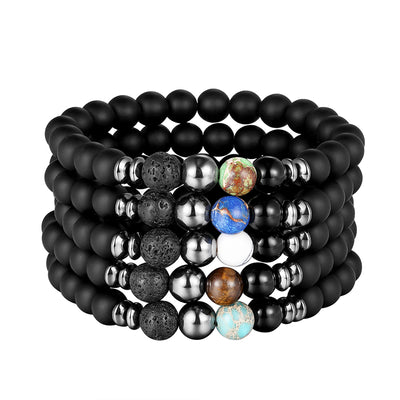 Natural Stone Bracelet for Men - Blindly Shop