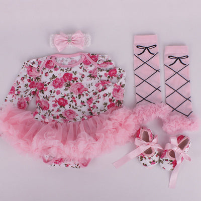 Baby Costumes -  Infant Toddler baby Girls First Christmas Outfits - Blindly Shop