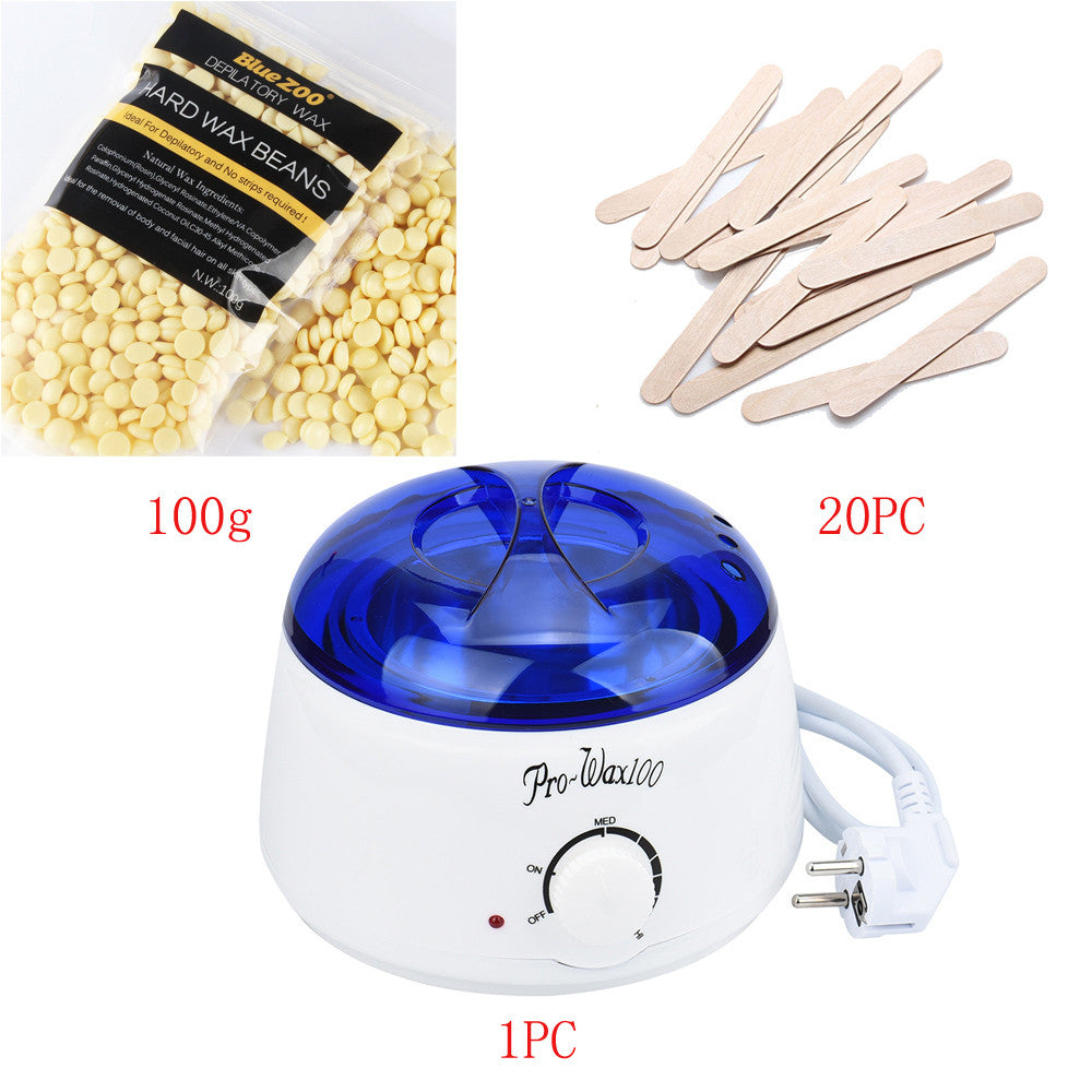 Hair Removal Hot Wax Warmer Heater Pot Depilatory Kit Blindly Shop