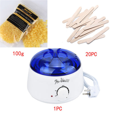 Hair Removal Hot Wax Warmer Heater Pot Depilatory KIT - Blindly Shop