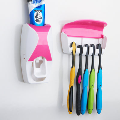 Automatic Plastic Lazy Toothpaste Dispenser - Blindly Shop