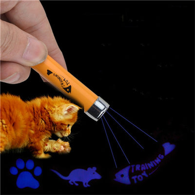 Creative Funny Pet LED Laser Toy - Cat Laser Toy - Blindly Shop