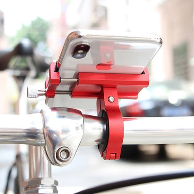 Stylish Sporty Aluminum Alloy Bicycle Phone Holder - Blindly Shop