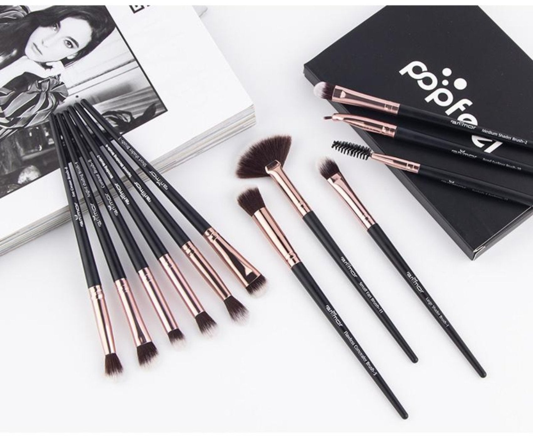 Professional 12 PCS Makeup Brush Set