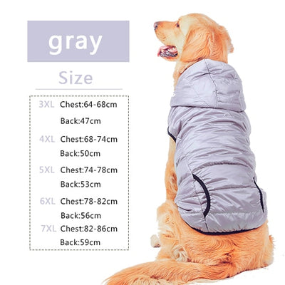 Warm Cotton-padded Two Feet Dog Coat / dogs Hoodie - Blindly Shop