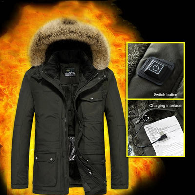 Premium Electric  Heated Jacket For Men - Blindly Shop