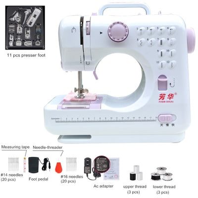 Premium Pro Grade Electric Household Sewing Machine (Plug in / Portable) - Blindly Shop