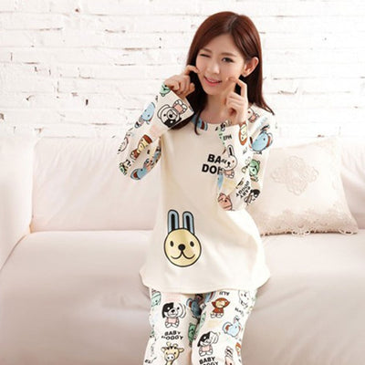 Cute pajamas set / sleepwear for women - Blindly Shop