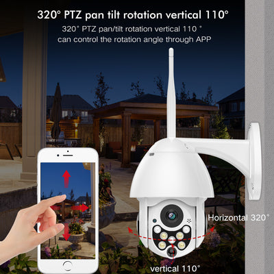 HD Premium Outdoor Wireless Wifi Security Camera / IP Camera - Blindly Shop