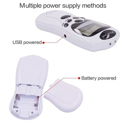 Tens Digital physical Pain Therapy Machine / Acupuncture Body Massager - Blindly Shop