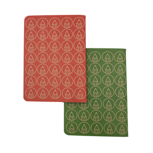 Red/Green - two pack