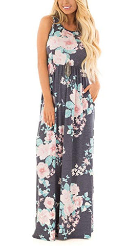 My Amazing Story Floral Maxi Dress