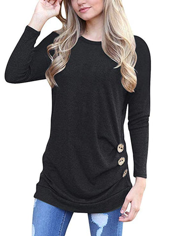 Feeling Lucky Side Button Tunic