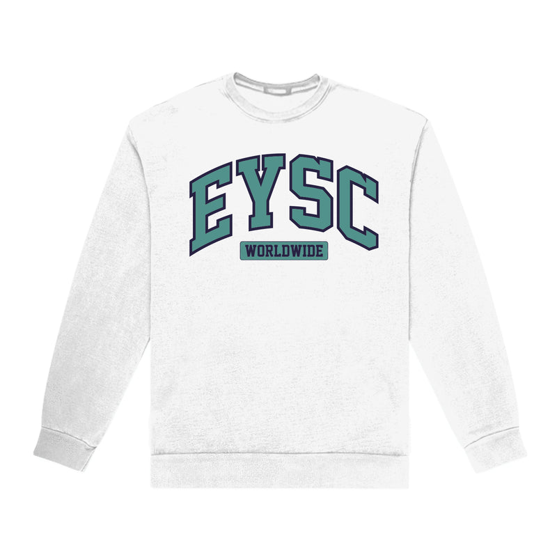 """OFF CAMPUS"" HEATHER GRAY CREWNECK"
