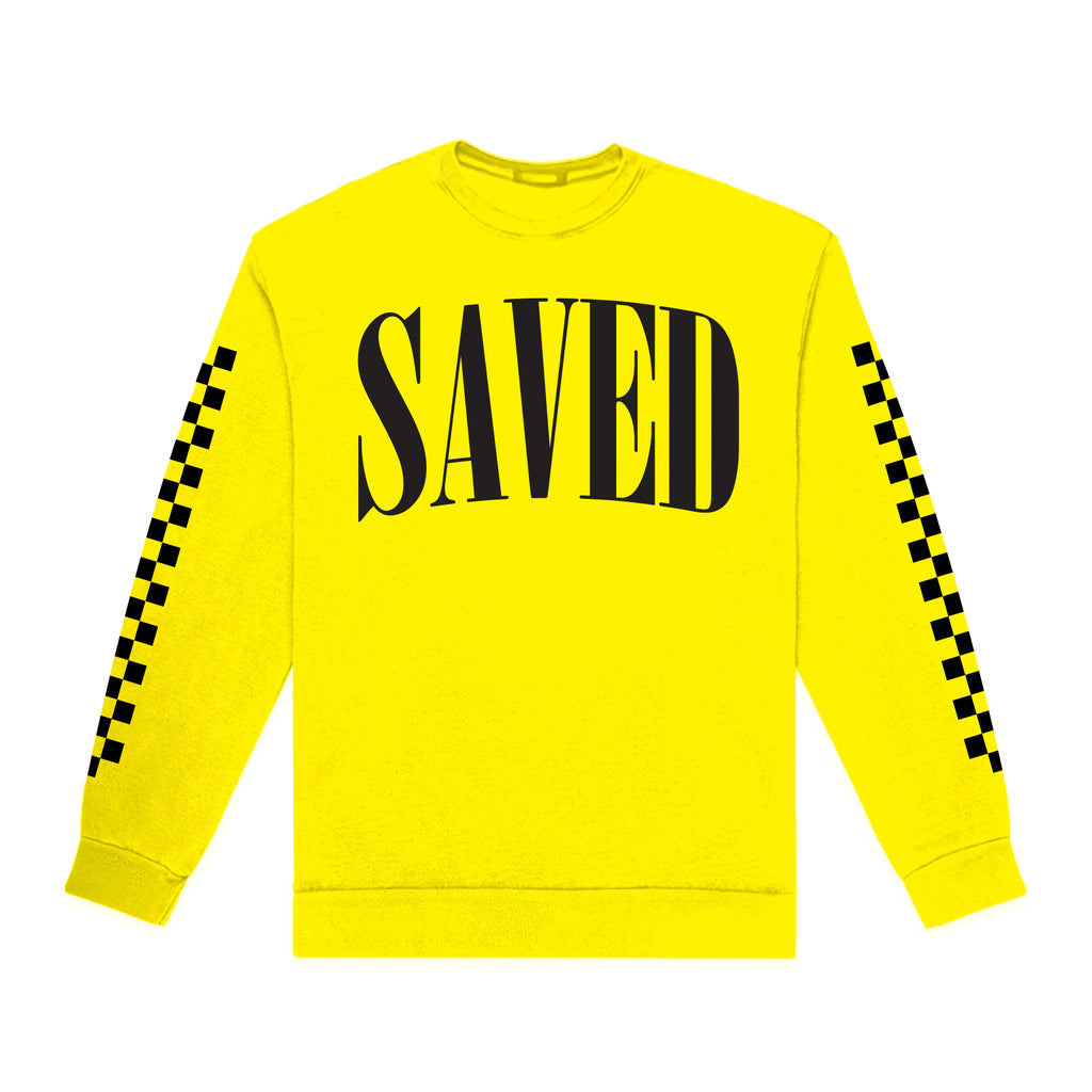 """SAVED"" CREWNECK"