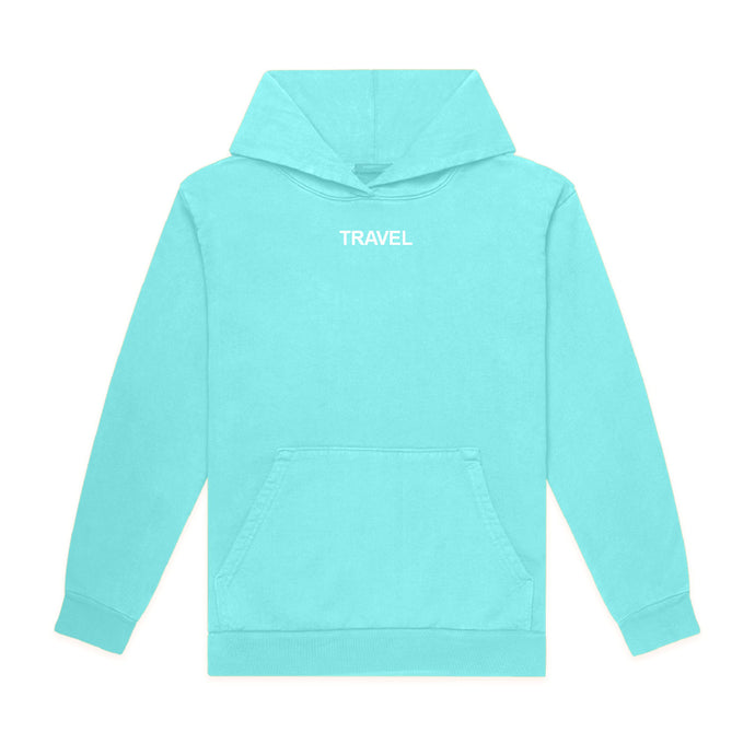 Embroidered Travel Hoodie
