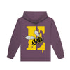 BE-E GRATEFUL Hoodie (ASH PURPLE)