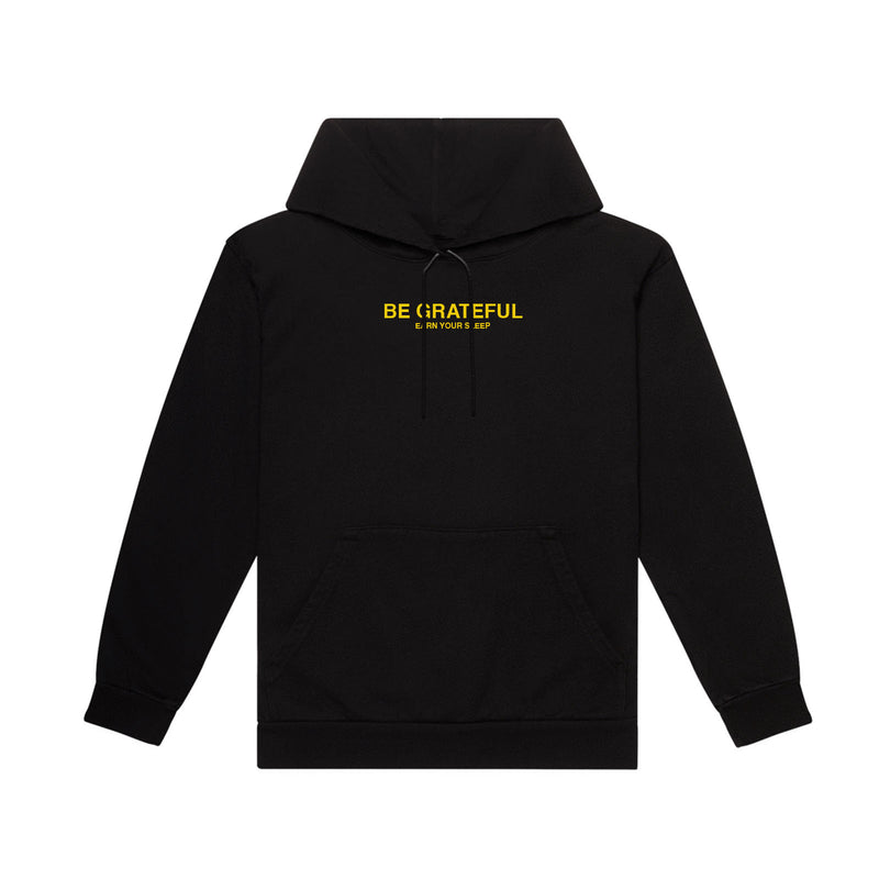 BE-E GRATEFUL Hoodie (BLACK)