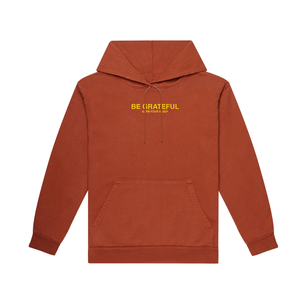 BE-E GRATEFUL Hoodie (BRICK RED)