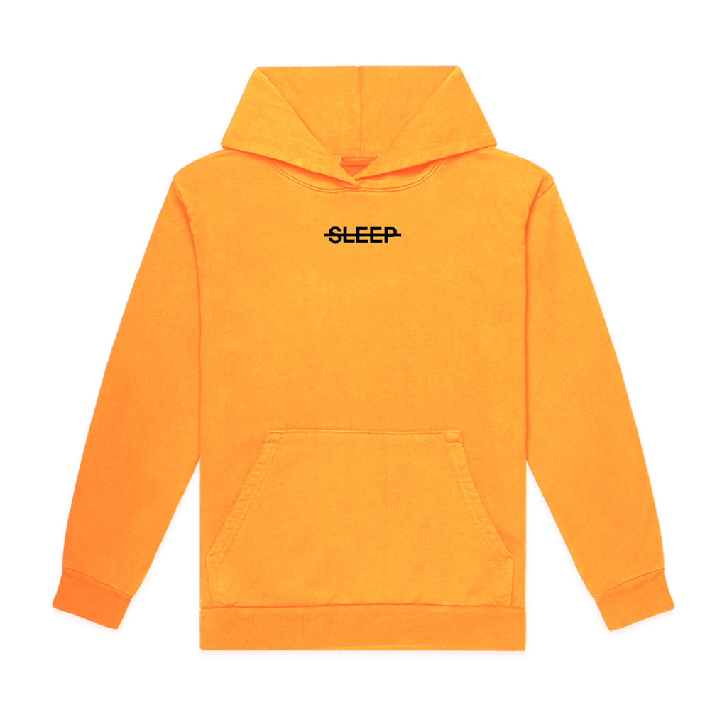 Embroidered Golden Sleep Slash Hoodie