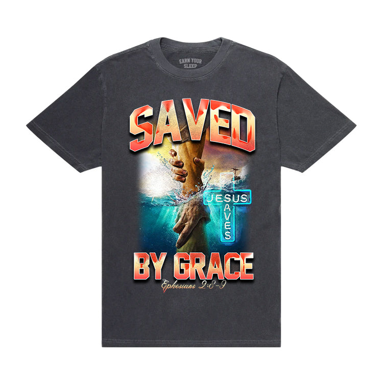 SAVED BY GRACE (VINTAGE TEE)