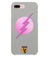 Grey & Pink Superhero iPhone 7 Plus Case
