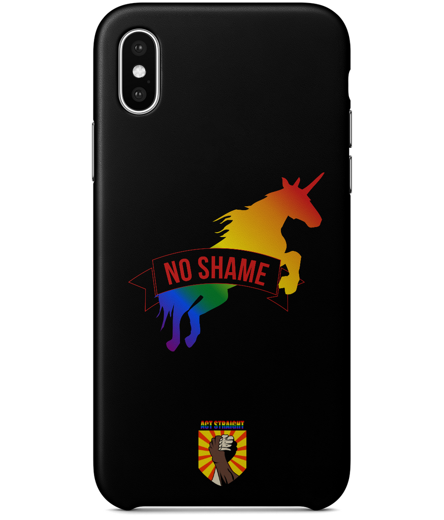 No Shame iPhone X Full Wrap Case