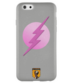 Grey & Pink Superhero iPhone 6/6s Case