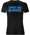 Open for Business Organic Cotton Stretch T-Shirt