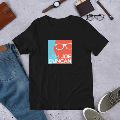The I am Joe Duncan Shirt - Blue Orange