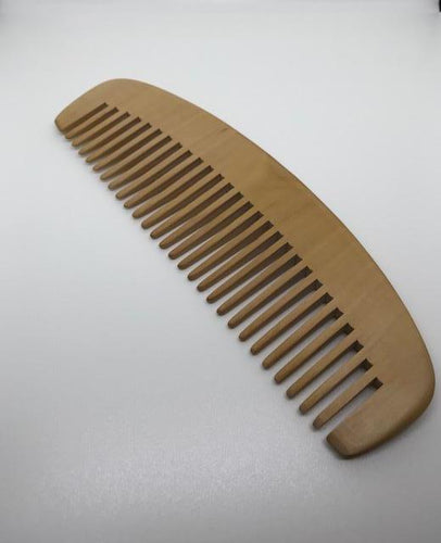 Peach Wood Comb