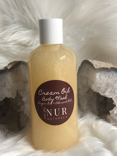 Cream Oil Body Wash
