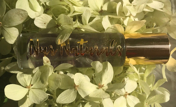 Body Oil Infused with Gem Stones