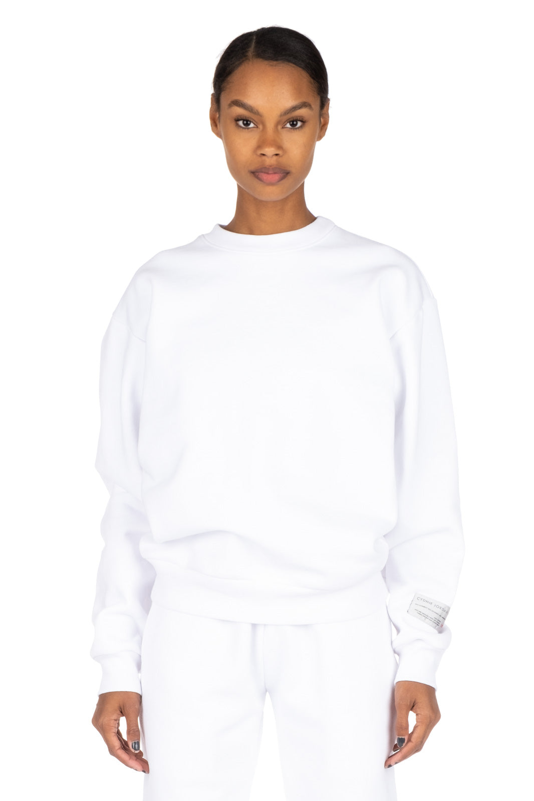 Unisex Sweatshirt by Cydnie Jordan, available on cydniejordanny.com for $125 Hailey Baldwin Top Exact Product