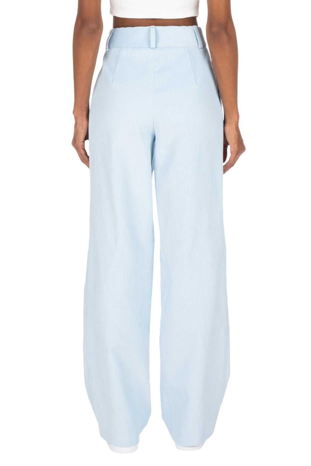 CORDUROY TROUSERS - Baby Blue
