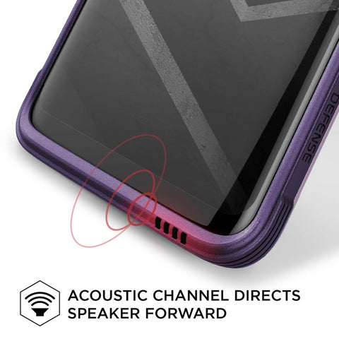 Acoustic Channel Directs Speaker Forward