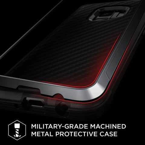 X-Doria Defense Lux for Samsung Galaxy S8 PlusMilitary-Grade Machined Metal Protective Case