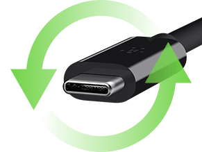 Reversible USB-C Connector
