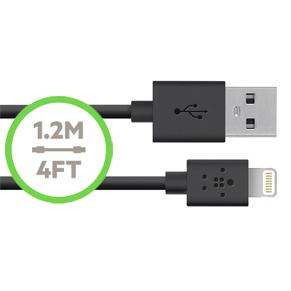 INCLUDES 1.2M 4FT REMOVABLE LIGHTNING TO USB CABLE