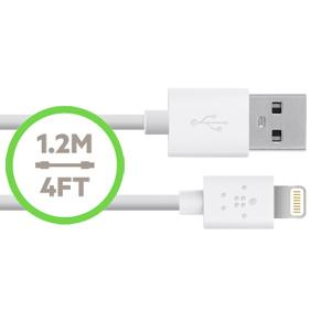 Belkin BOOST UP AC Charger with Lightning Cable 1.2m 4ft