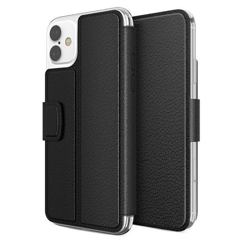 X-doria Genuine Folio Case iPhone 11 Pro Pro Max Black