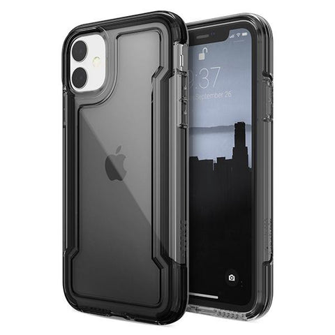 X-Doria Genuine Defense Clear Case iPhone 11 Pro Pro Max Black White