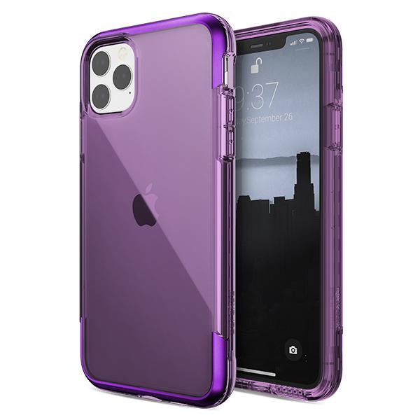 X-doria Defense Air Life proof 4M drop Protection Clear case  iPhone 11 / Pro / Max SLV, Purp, RED, Space Grey