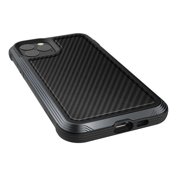 X-Doria Genuine Defense Lux iPhone 11 Pro Pro Max Carbon Leather